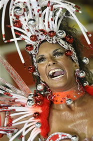 Nani Moreira, rainha da bateria