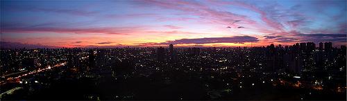 Sol em São Paulo